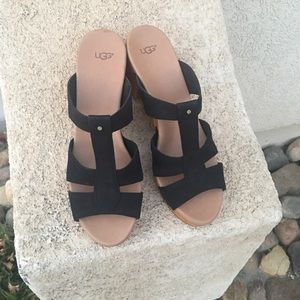 New UGG Jennie clog sandal black size 12